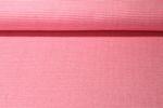 Jersey gemustert - Albstoffe GOTS Weekender Itsy Bitsy Waffel Piqué Pink Weiss 001