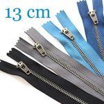 Jeansreißverschluss Metall Antique 13 cm 001