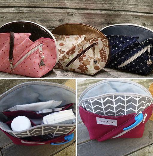 Das Täschchen für die Tasche - Netti - Schnittmuster eBook