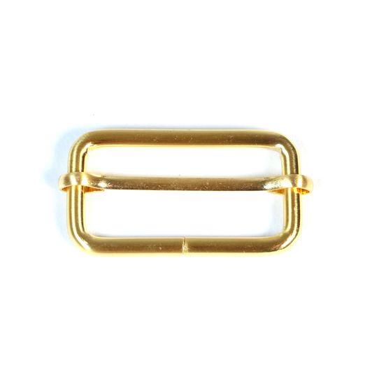 Leiterschnalle 40mm gold