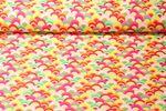 Canvas gemustert - Bögen Pink Multicolor 001
