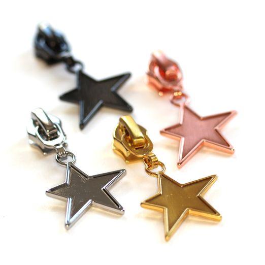 Zipper mit Stern für 6,5mm Raupenbreite