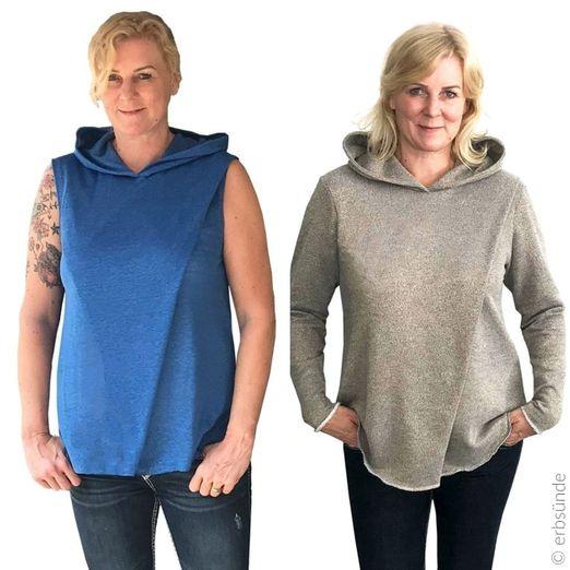 Pullover Shirt - Plissado - Schnittmuster eBook