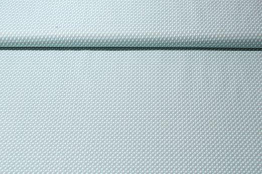 Baumwolle gemustert - Flechtwerk Mint