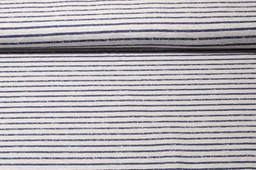 Jeresy gestreift - Fun Stripes Grau Blau