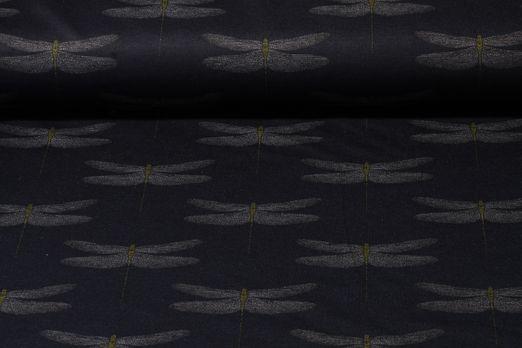 Romanit Jersey - Libellen Navy Grau