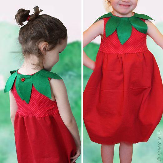 Kostüm - Erdbeere Ballonkleid - Schnittmuster eBook