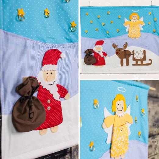Adventskalender - Nikolaus und seine Freunde - Schnittmuster eBook