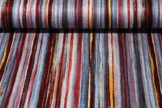 Romanit Jersey - Streifen Braun Multicolor