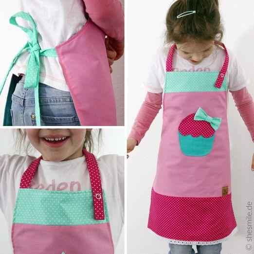 Schürze für Kinder - Muffin - Schnittmuster eBook