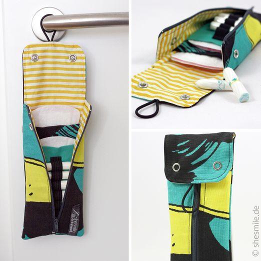 Täschchen für Slipeinlagen und Tampons - Rosi - Schnittmuster eBook