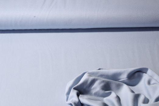 Jersey Uni - Organic Cotton Doubleface Hellblau