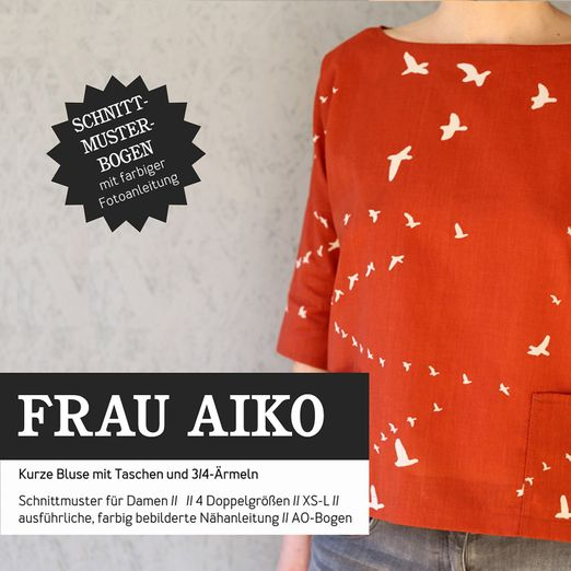Bluse - FRAU AIKO - Papierschnittmuster
