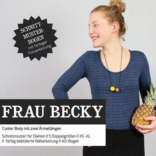 Body - FRAU BECKY - Papierschnittmuster