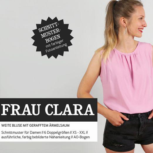 Ärmellose Bluse - FRAU CLARA - Papierschnittmuster