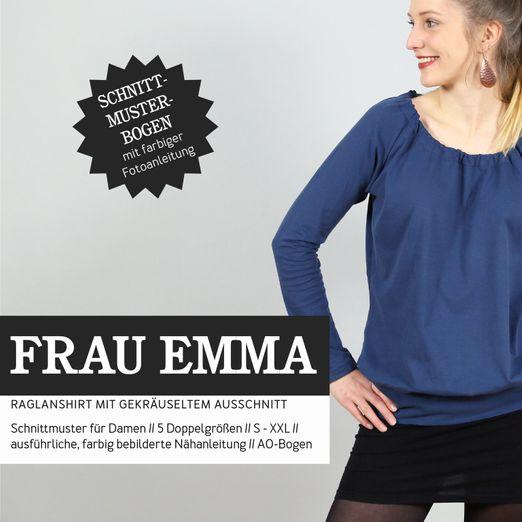 Raglanshirt - FRAU EMMA - Papierschnittmuster