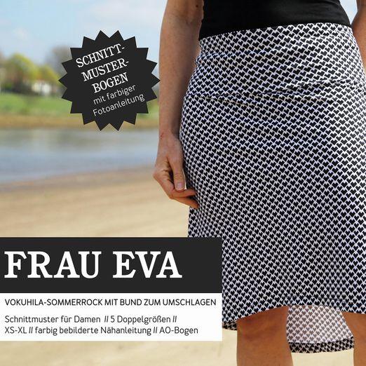 Jerseyrock - FRAU EVA - Papierschnittmuster