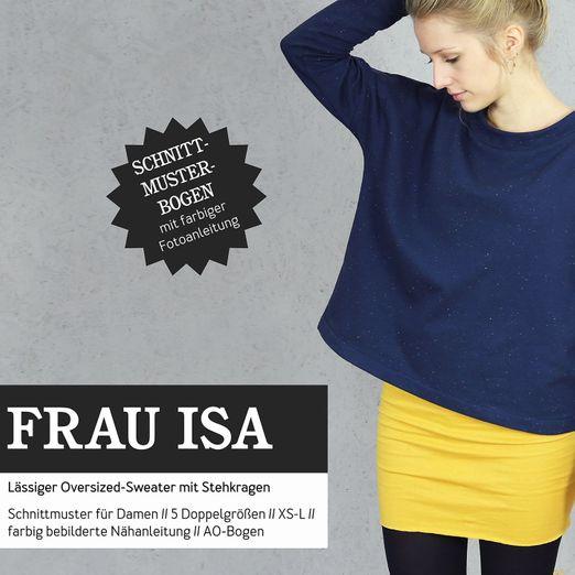 Oversized Sweater - FRAU ISA - Papierschnittmuster
