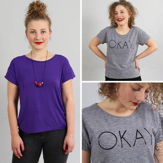 Basicshirt - FRAU TINA - Papierschnittmuster