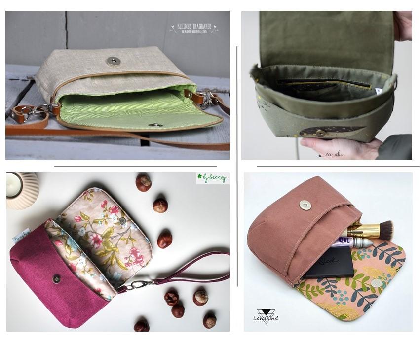 Tasche Eleni Bag Schnittmuster eBook | Taschenmuster