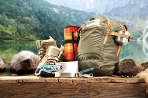 Bergwandern Ausrüstung Outdoor
