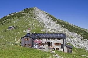 Weilheimhütte Wandern Berge