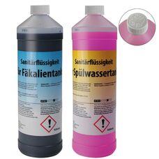 2 x 1 Liter Sanitärflüssigkeit für transportable Toilettensysteme von BB Sport