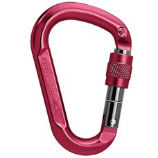 ALPIDEX HMS Aluminium Screw Karabiner