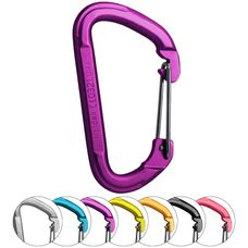 Carabiner Aluminium Straight/Wire by ALPIDEX
