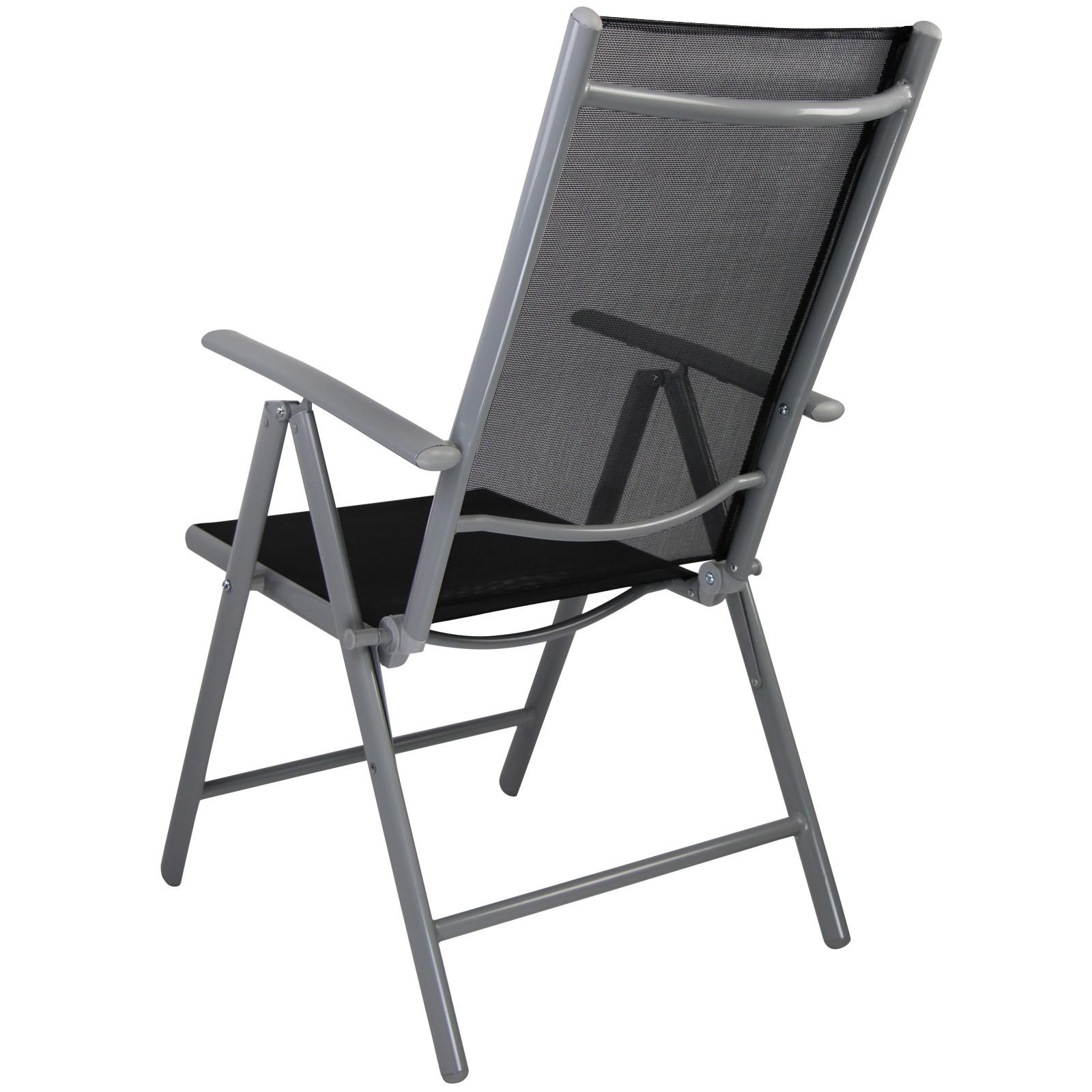 stuhl klappstuhl gartenstuhl campingstuhl hochlehner alu. Black Bedroom Furniture Sets. Home Design Ideas