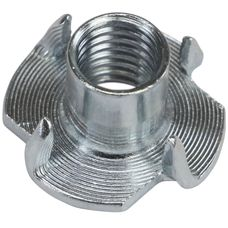 ALPIDEX 100 Einschlagmuttern M10 EDELSTAHL 13 mm Einschlaggewinde für Klettergriffe
