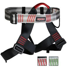 ALPIDEX Universal climbing harness for men and women climbing waist harness with adjustable leg loops