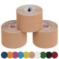 3 x Kinesiologie Tape 5 cm x 5 m in verschiedenen Farben  001