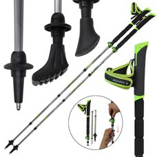 Folding Nordic Walking poles Vario made of carbon by ALPIDEX