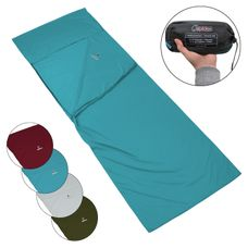 Polycotton Sleeping Bag Liner by ALPIDEX