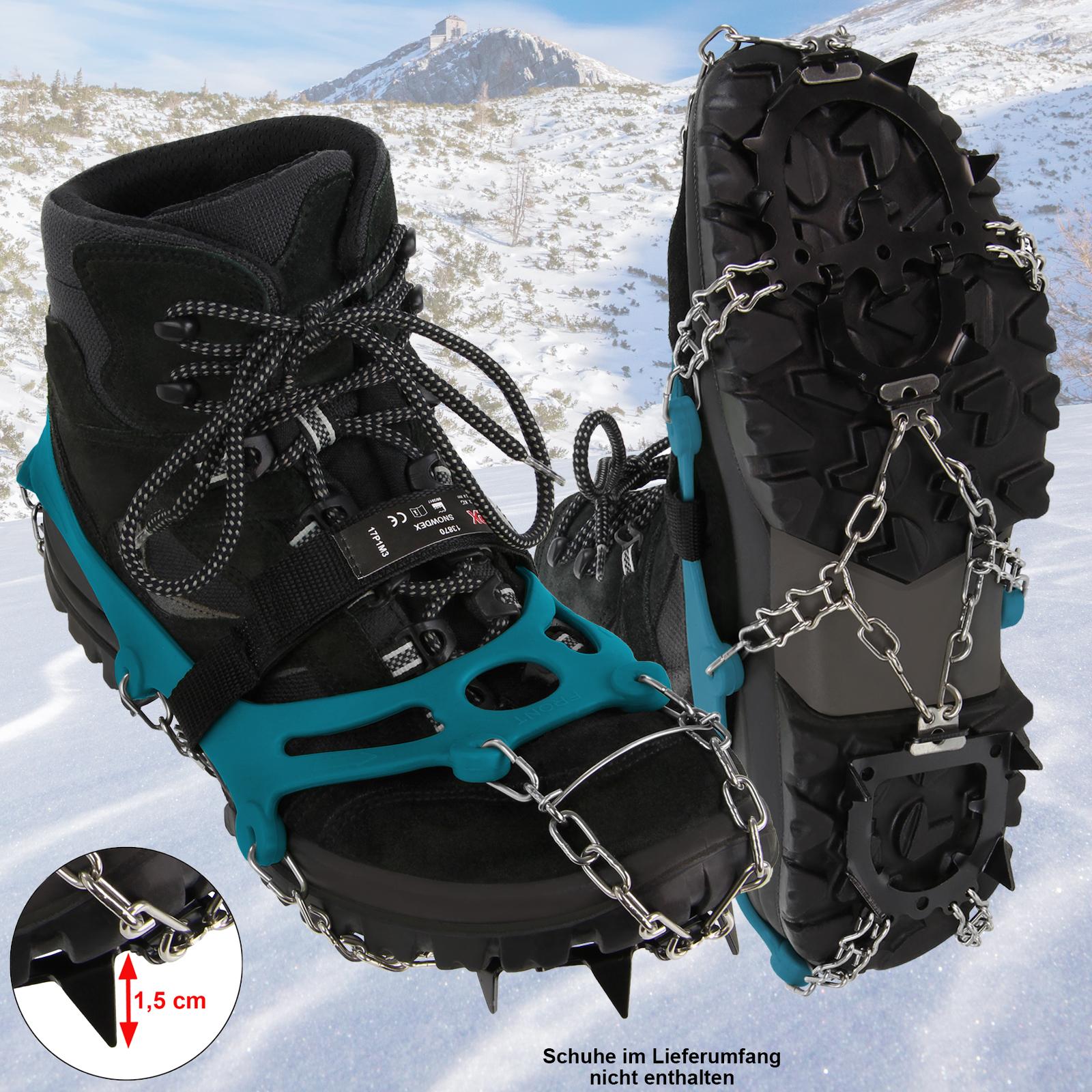 on sale 7ce14 46da6 ALPIDEX Schuh Spikes Grödel Schneeketten für Schuhe in verschiedenen Größen