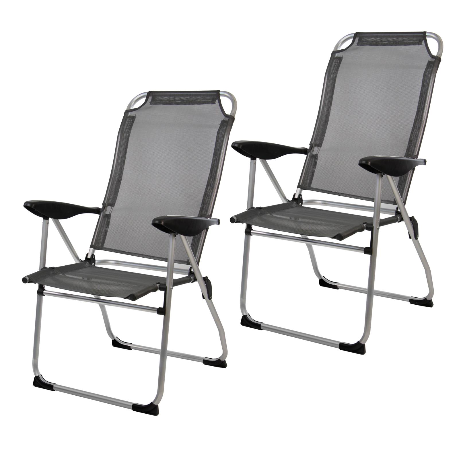 gartenstuhl campingstuhl alu klappstuhl sanja hochlehner einzeln 2er 4er set ebay. Black Bedroom Furniture Sets. Home Design Ideas