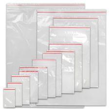 Transparente LDPE Druckverschlussbeutel 50 uq in verschiedenen Größen von BB Sport