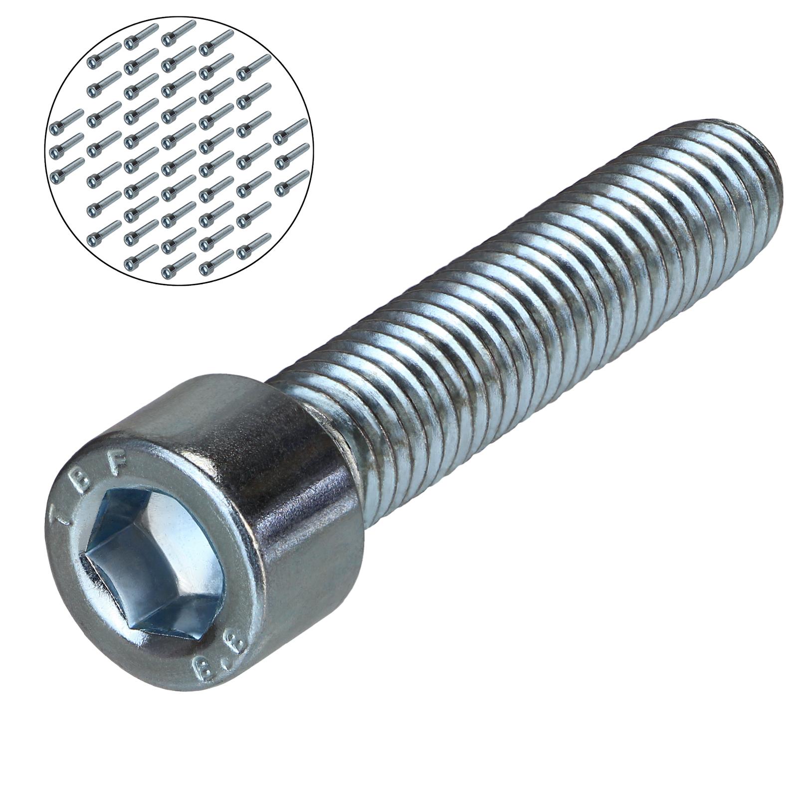 M5 x 40 VPE: 50 St/ück DIN 912 Zylinderkopfschrauben D2D Edelstahl A2 V2A Zylinderschrauben mit Innensechskant