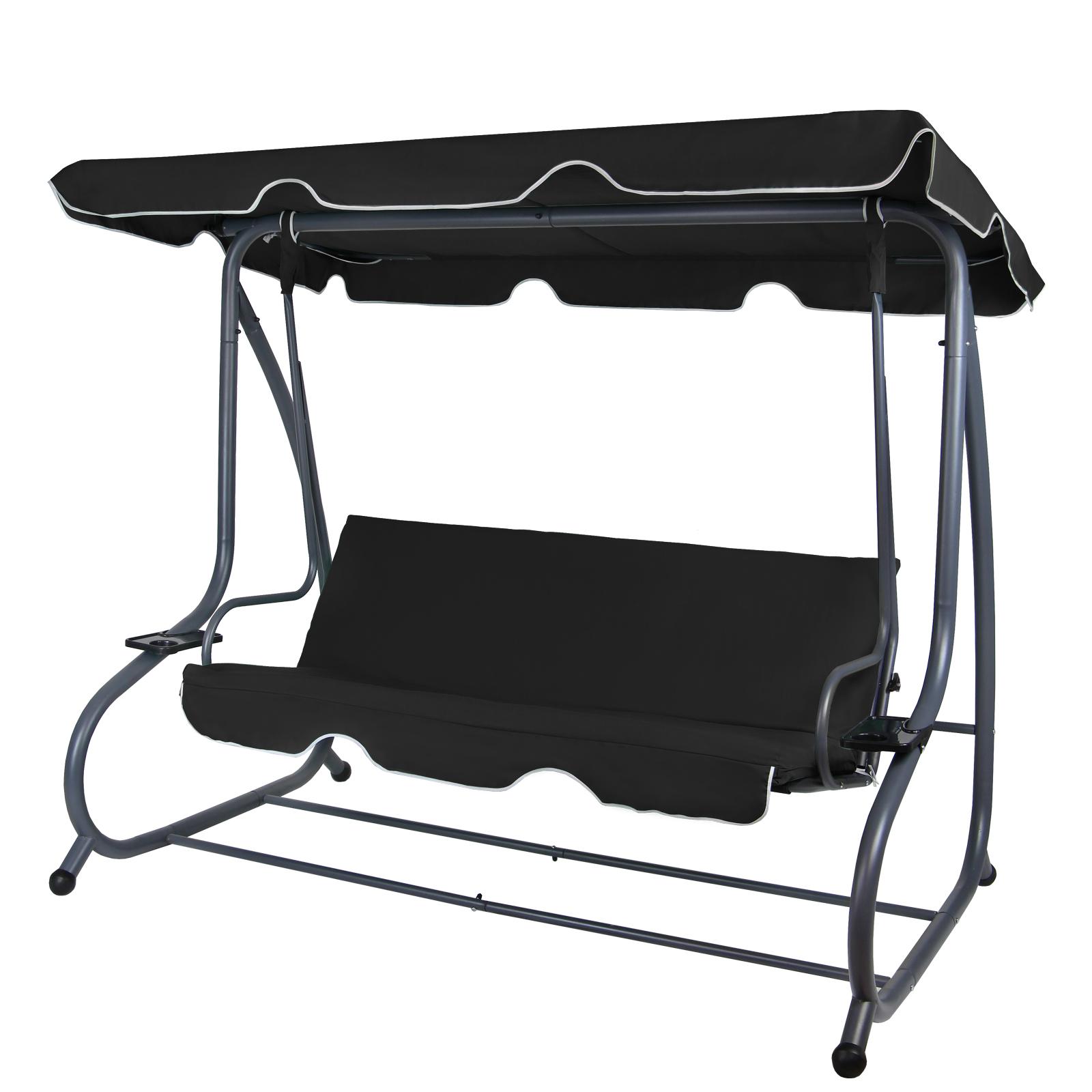 Bevorzugt 4-Sitzer Hollywoodschaukel mit Bettfunktion von BB Sport RS26