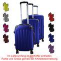 Reise Koffer Trolley ABS Hartschalenkoffer EXPERIENCE 2.0 in verschiedenen Größen und Farben auch als Set von BB Sport 001
