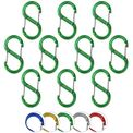 Material carabiner S in various colors - 10 pieces 001