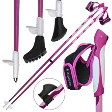Nordic Walking poles fixed length pole made of carbon in different lengths by ALPIDEX
