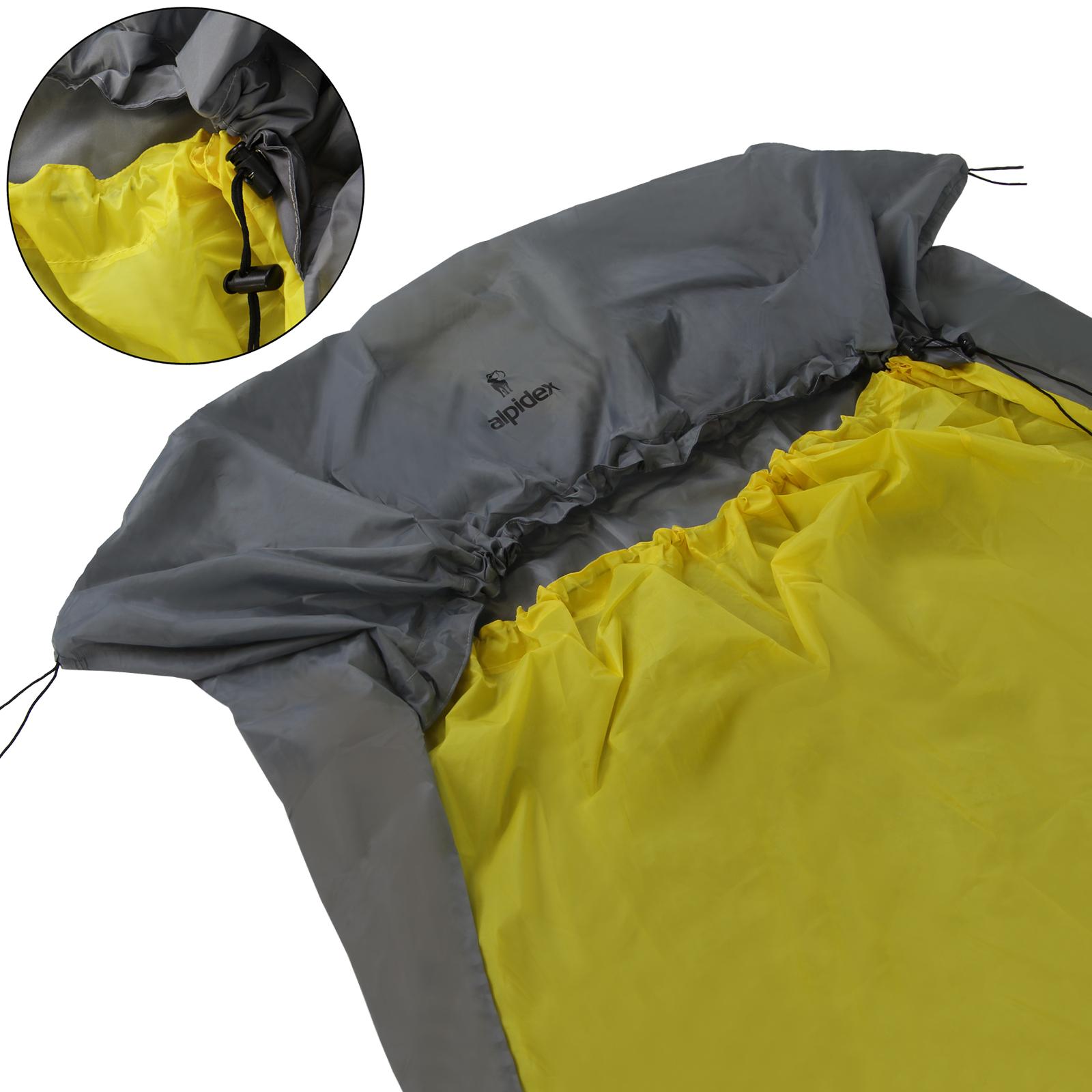 wähle spätestens neuer Stil von 2019 Ausverkauf ALPIDEX wasserdichter Biwaksack in verschiedenen Größen für ...
