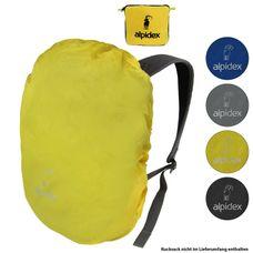 ALPIDEX Rucksack Regenschutz Regenhüllen in verschiedenen Größen und Farben
