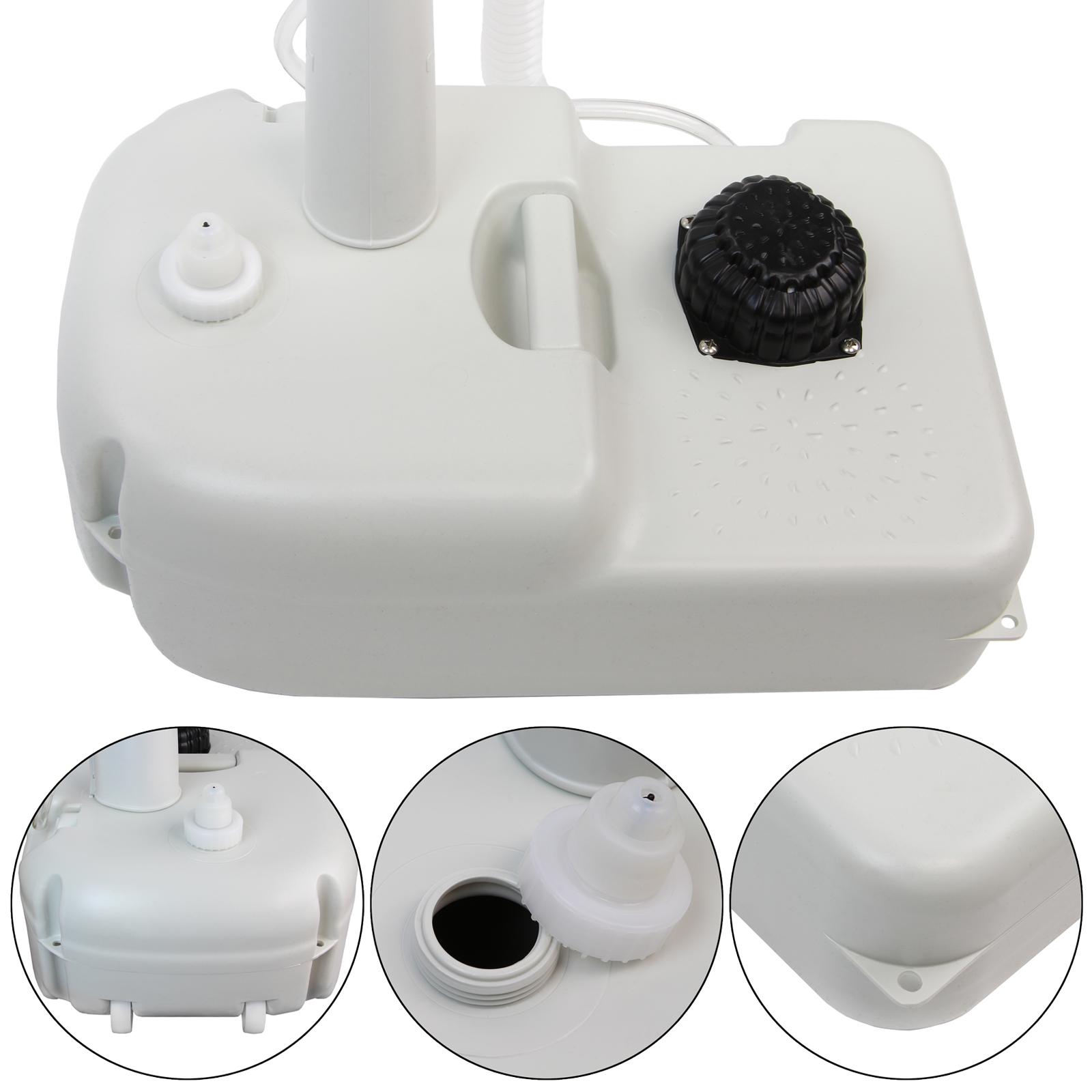 mobiles tragbares camping waschbecken handwaschbecken mit fu pumpe und seifenspender von bb sport. Black Bedroom Furniture Sets. Home Design Ideas