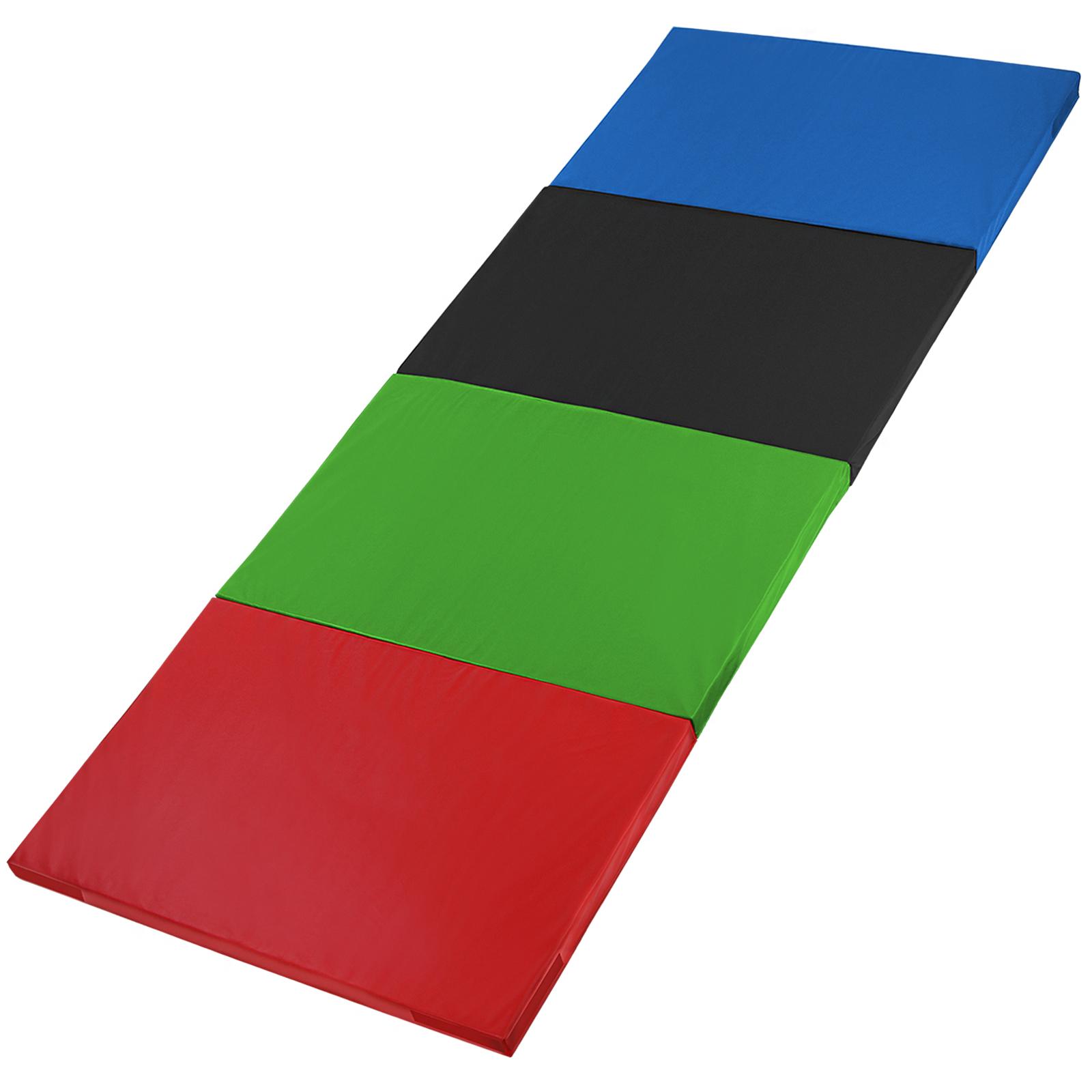 klappbare leichtschaum turnmatte 300 x 120 x 5 cm rg 18 mit klettecken in verschiedenen farben. Black Bedroom Furniture Sets. Home Design Ideas