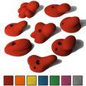 ALPIDEX 8 XL Klettergriffe im Set verschieden geformte Henkelgriffe in vielen Farben 001