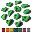 ALPIDEX 12 L Klettergriffe im Set verschieden geformte Henkelgriffe für Kinder in vielen Farben 001