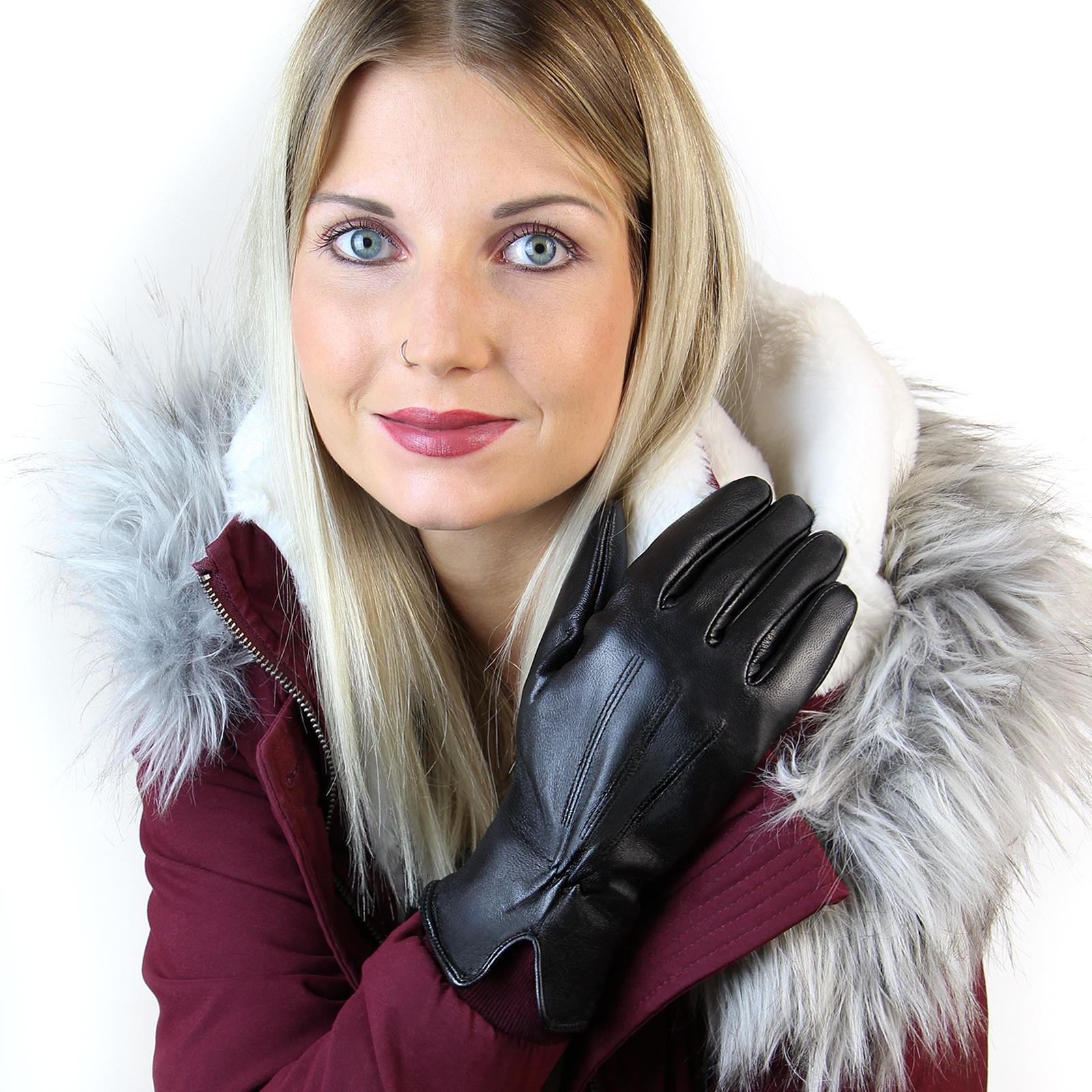 alpidex damen lederhandschuhe winterhandschuhe. Black Bedroom Furniture Sets. Home Design Ideas